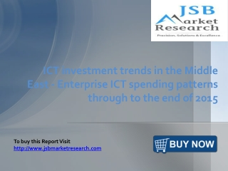 ICT investment trends in the Middle East