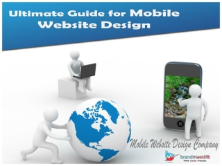 Ultimate Guide for Mobile Website Design