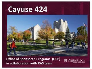 Cayuse 424