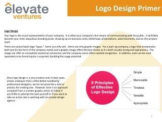 Logo Design Primer