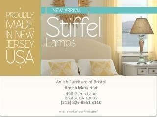Stiffel Lamps dealer in Bristol, Pennsylvania