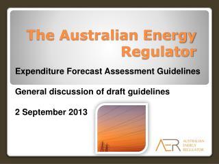 The Australian Energy Regulator