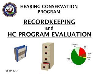 RECORDKEEPING  and HC PROGRAM EVALUATION