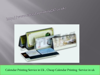 London Calendar Printing Expert