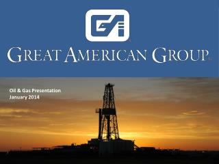 Oil & Gas Presentation January 2014