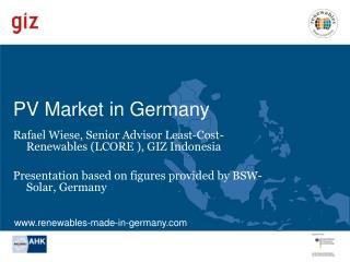 PV Market in Germany