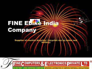 FINE  Ebike India  Company