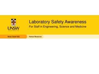 Laboratory Safety Awareness