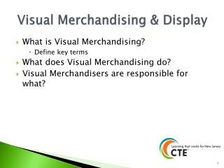 Visual Merchandising & Display