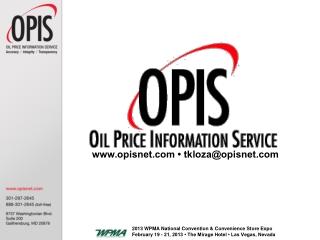 www.opisnet.com • tkloza@opisnet.com