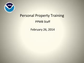 PPMB  Staff February 26, 2014