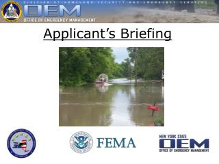 Applicant�s Briefing