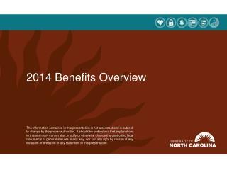 2014 Benefits Overview