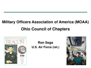 Ron Sega U.S. Air Force (ret.)