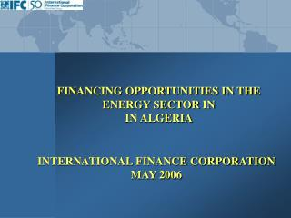 international finance corporation may 2006