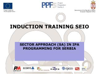 INDUCTION TRAINING SEIO