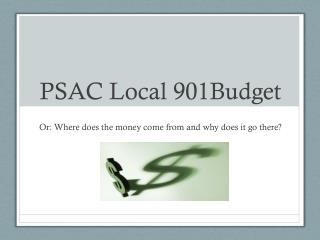 PSAC Local 901Budget