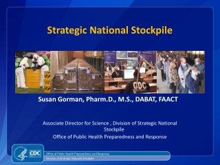 Strategic National Stockpile