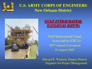 u.s. army corps of engineers new orleans district