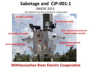 Three passive infrared  detectors