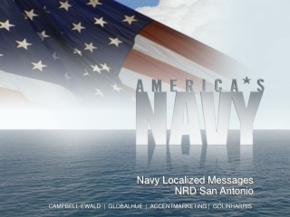Navy Localized  Messages NRD San Antonio