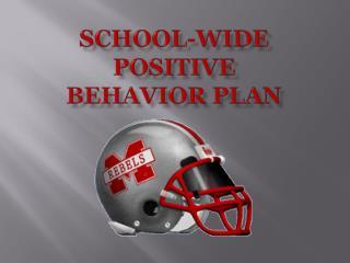 School-Wide Positive  Behavior Plan