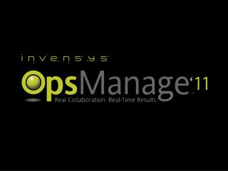 Invensys Operations Management PBPC131 Foxboro PAC System introduction