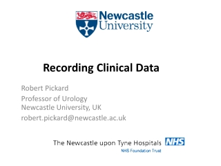Recording Clinical Data
