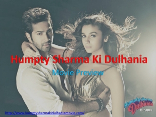 Humpty Sharma Ki Dulhania Movie Overview