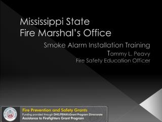 Mississippi State Fire Marshal's Office
