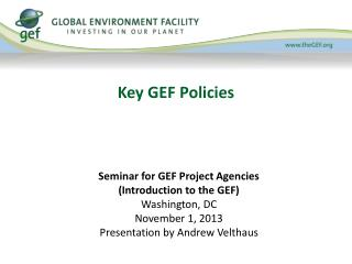 Key GEF Policies