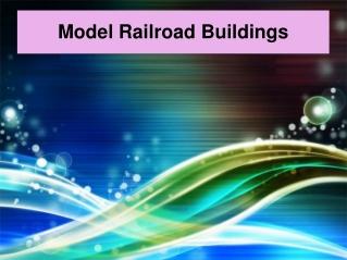 Model Railroad Buildings
