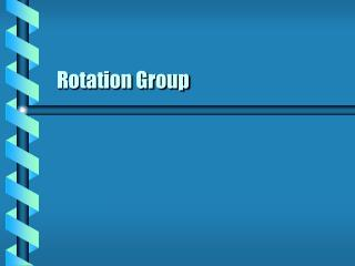 rotation group