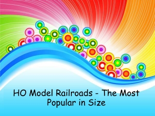 HO Model Railroads