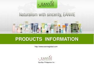 PRODUCTS  INFORMATION
