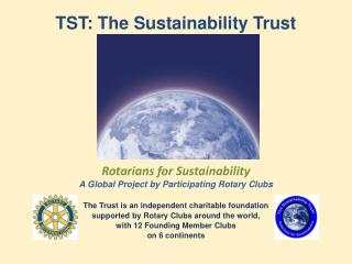 TST: The  Sustainability Trust