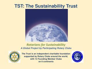 TST: The  Sustainability Trust