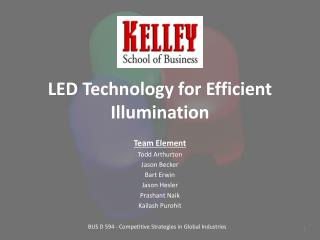 LED Technology for Efficient Illumination