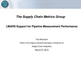 The  Supply Chain Metrics Group