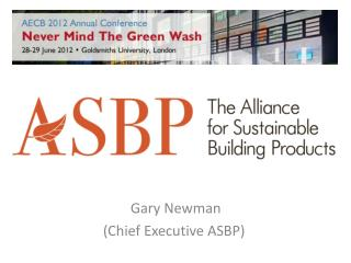 Gary Newman (Chief Executive ASBP)
