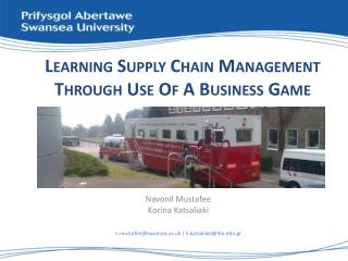 Learning Supply Chain Management Through Use Of A Business Game