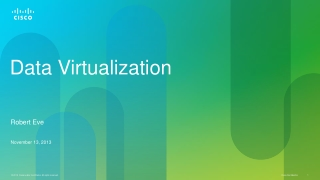 Data Virtualization
