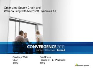 Optimizing Supply Chain and Warehousing with Microsoft Dynamics AX