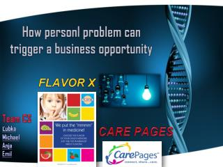 How personl problem can trigger a business opportunity