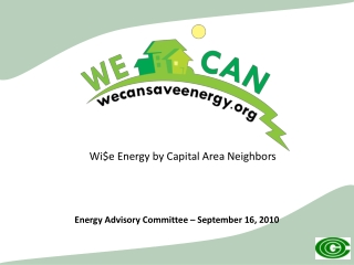 Wi$e  Energy by Capital Area Neighbors