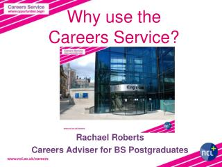 Why use the  Careers Service?