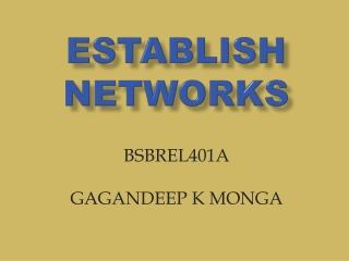 Establish  networks