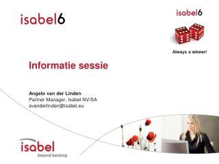 Informatie sessie