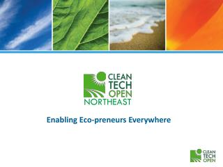 Enabling Eco-preneurs Everywhere