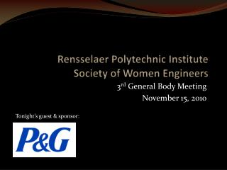 Rensselaer Polytechnic Institute Society of Women Engineers